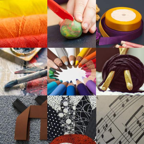 Art-thérapie patchwork séance Carine Sornon